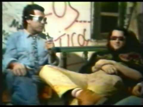 Reportaje de Tom Lupo a Sumo en Stud Free Pub 1985