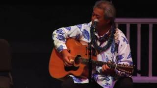 """Maori Brown Eyes"" @SlackKeyShow Kawika Kahiapo George Kahumoku Masters of Hawaiian Slack Key Guitar"