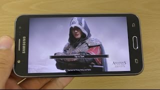 Samsung Galaxy J5 Gameplay Review -  Assassin's Creed Identity!