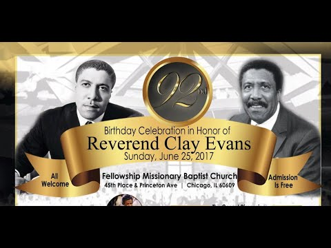 Rev. Clay Evans Celebration-More Love To Thee - YouTube