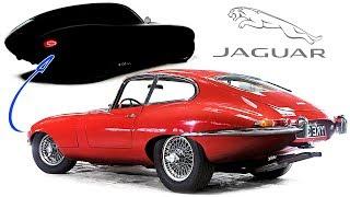 I re-design the 1964 Jaguar E-Type into a modern car!