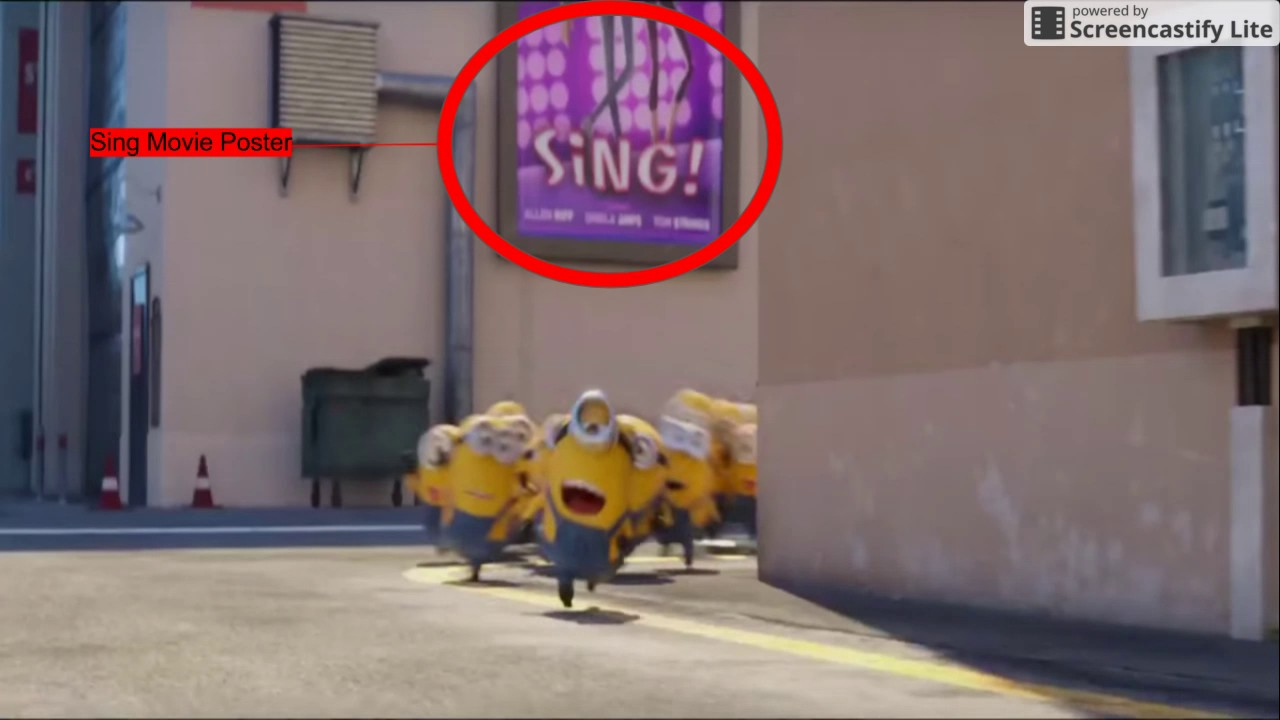 easter eggs in despicable me 3 trailer - Easter Egg Images 3