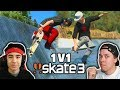 ZexyZek Challenged Me in Skate 3!
