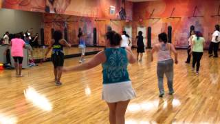 Zumba 2014 cumbia routine by Diana Faustin