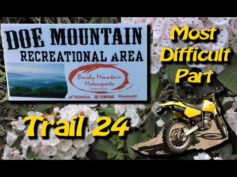 Worst Part of Trail 24's at Doe Mountain