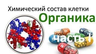 2. Химия клетки - органика часть I (9 или 10-11 класс) - биология, подготовка к ЕГЭ и ОГЭ 2018