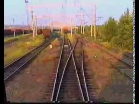 Клип Железная дорога г Усть Илимск Иркутская обл