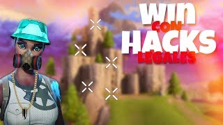 I ACTIVATE FORTNITE'S NEW LEGAL HACKS and this happens... 😱 (Epic Win) / zeus386