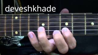 HOW TO PLAY - VANDE MATARAM(patriotic song) - LEARN GUITAR TABS
