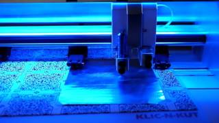 KNK Force - Using the Embossing Tool on Aluminum