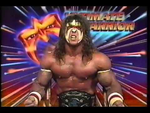 Ultimate Warrior Promo On Big Bossman 02 11 1989 Youtube