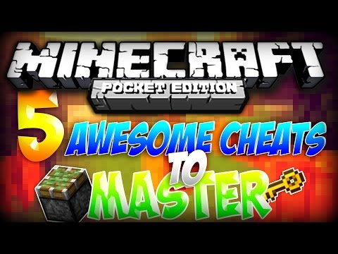 MCPE TOP 5 CHEATS! - Incredibly Easy Cheats to Master for Minecraft PE! | Minecraft Pocket Edition