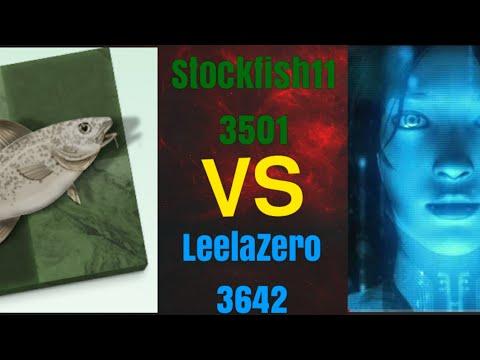 Great sacrifices !! || Leela chess Zero vs Stockfish 11