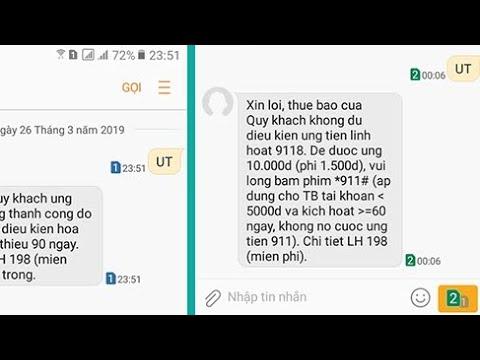 Cách ứng Tiền Trên SIM Viettel được 100k đến 500k đơn Giản Nhất