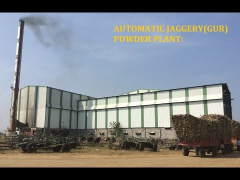 Automatic Jaggery(Gur/Gud/Panela) Powder Plant By Vaibhav Industries