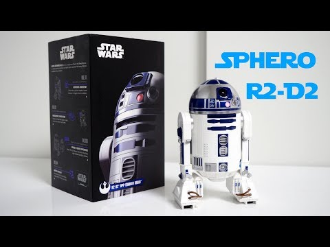 Sphero R2-D2 hands-on