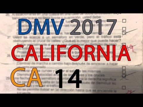 FREE California DMV Permit Practice Test 2017 | CA serie 14