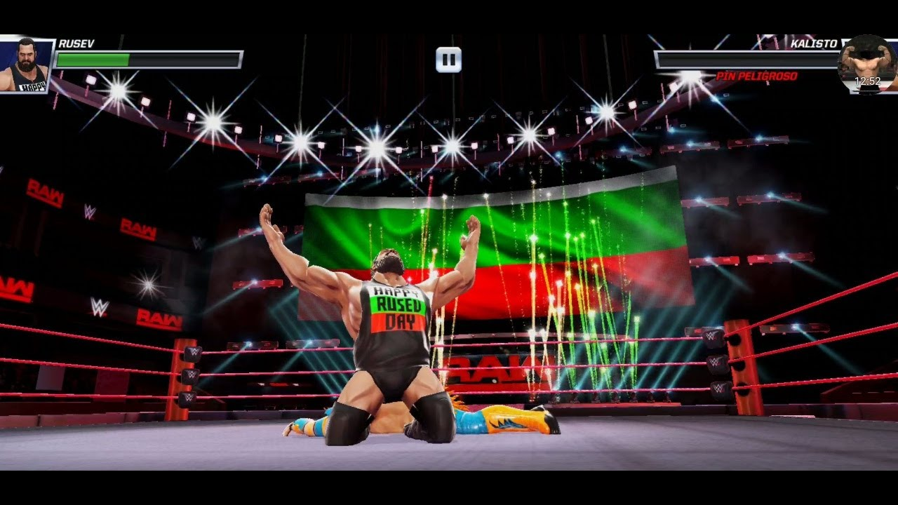 Download WWE MAYHEM 🌟 HAPPY RUSEV DAY 🌟 Four Stars 🌟