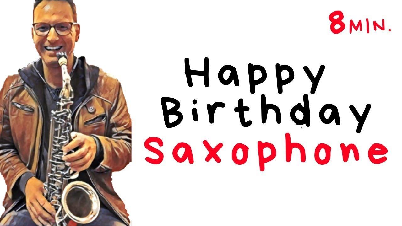 Happy Birthday Tenor Saxophon Special Geburtstagslied
