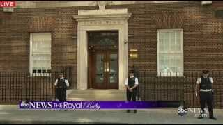 Royal Baby: Kate Middleton in Labor at St. Mary