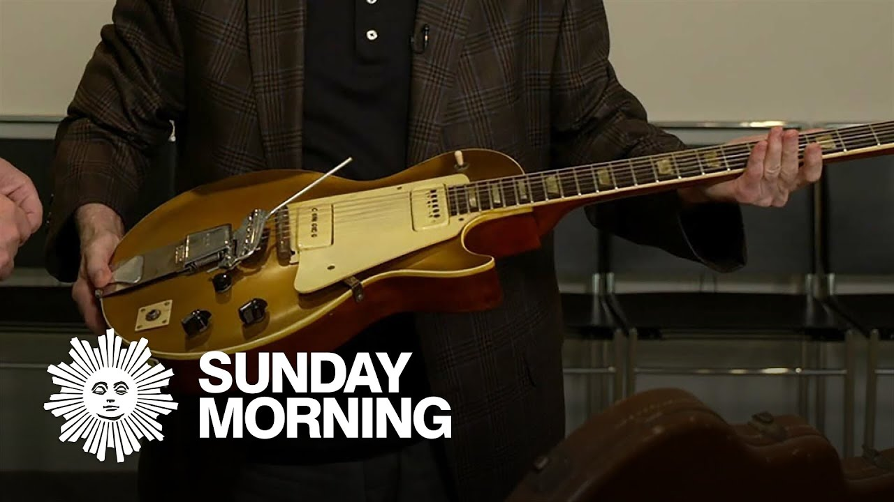 Les Paul's prototype Gibson Goldtop, up for sale
