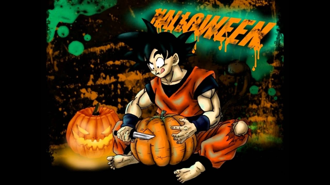 dragon ball this is halloween youtube