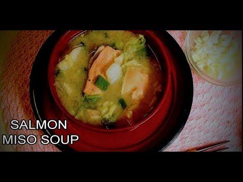 Salmon Miso Soup Recipe