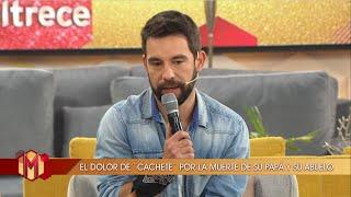 Agustín Sierra habló de la perdida de su padre y abuelo durante la #Cuarentena