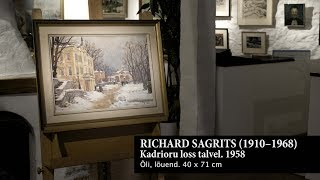 Richard Sagrits. Kadrioru loss talvel. 1958