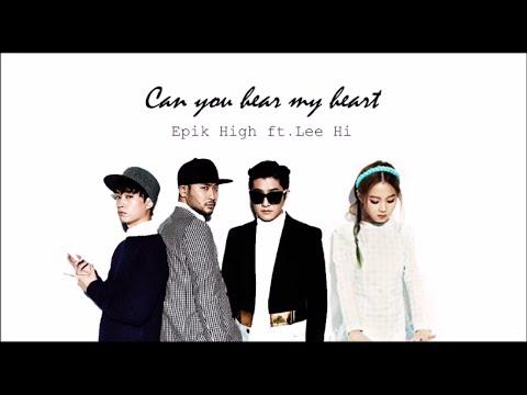Epik High ft. Lee Hi- 'Can You Hear My Heart' OST Moon lovers Part 6)[Han|Rom|Eng lyrics]