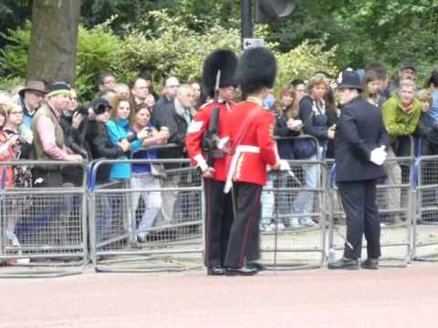 Trooping the Colour parade 2015, part 4. Pace Sticks