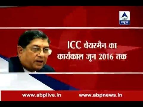 Shashank Manohar replaces N Srinivasan as ICC Chairman