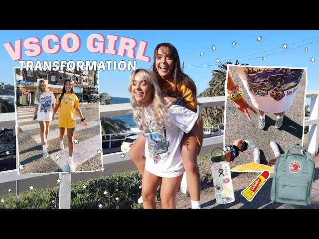 """Transforming into Aesthetic """"VSCO"""" girls for a day..."""