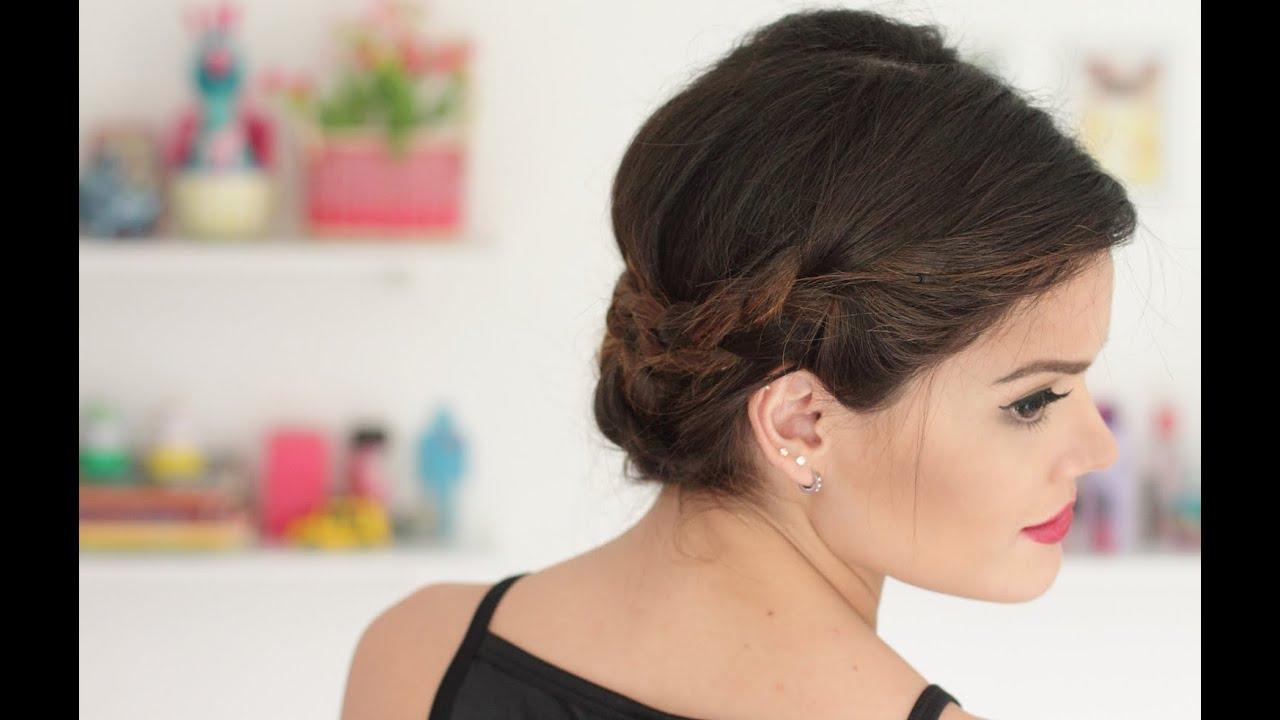 Tutorial peinado para una cena elegante elu gonz lez youtube - Peinados para hacerse una misma ...