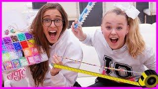 Making The World's Largest Friendship Bracelet!