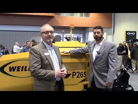 [VIDEO] Weiler's new commercial paver expands Cat offering