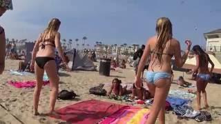 Playa de California, pequeña caminata