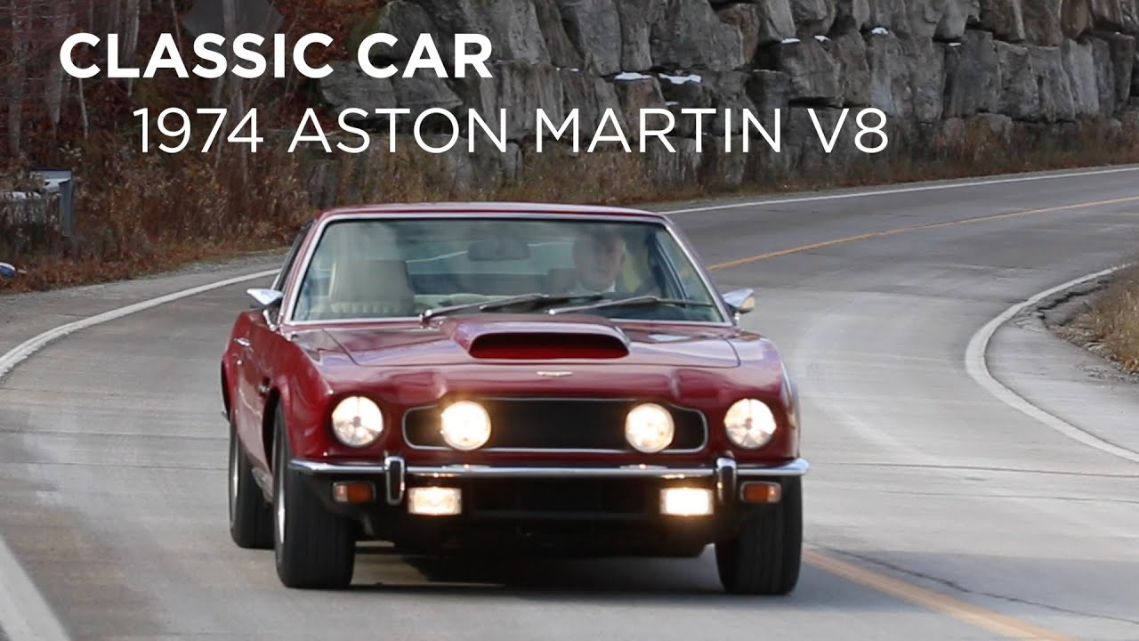 Classic Car | 1974 Aston Martin V8 | Driving.ca - YouTube