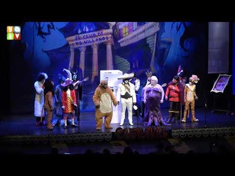 El club de los villanos Chirigota de Tarifa Carnaval 2020