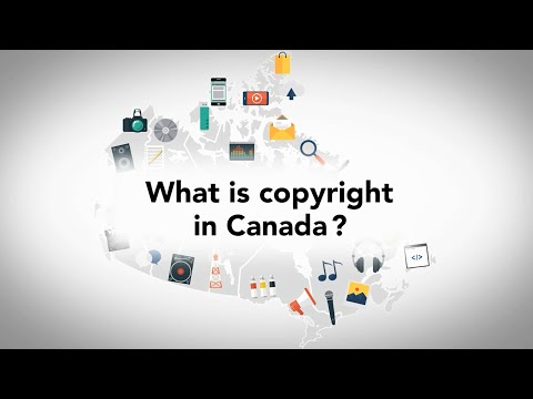 What is a copyright? (Canada)