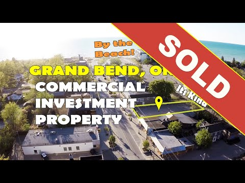 SOLD - Grand Bend Beach - Grand Bend Commercial Real Estate For Sale, Oversized Investment Property