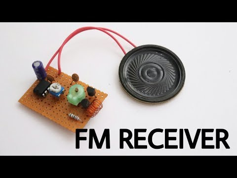 How to make FM Radio receiver at home