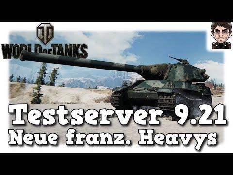 World of Tanks - Testserver 9.21, Neue französische schwere Panzer [deutsch | News]