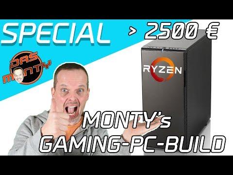 MONTY's RYZEN GAMING-PC BUILD  |  Nvidia GeForce GTX 1080ti ??? | Das Monty - Deutsch