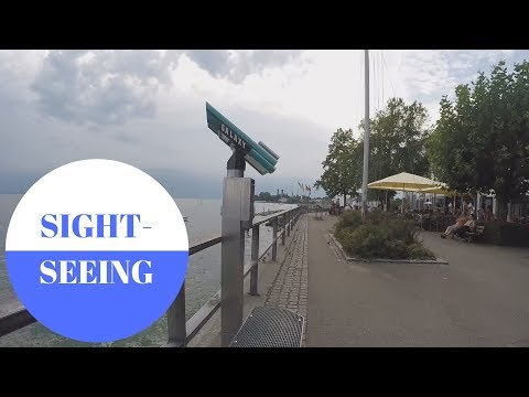 SIGHTSEEING: Friedrichshafen am Bodensee in GERMANY