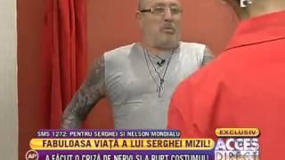 Serghei Mizil a făcut o criză de nervi şi a rupt costumul!