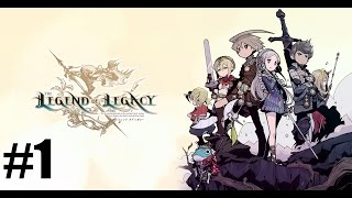 The Legend of Legacy - First 30 Minutes Gameplay Walkthrough Part 1 [ 3DS ]
