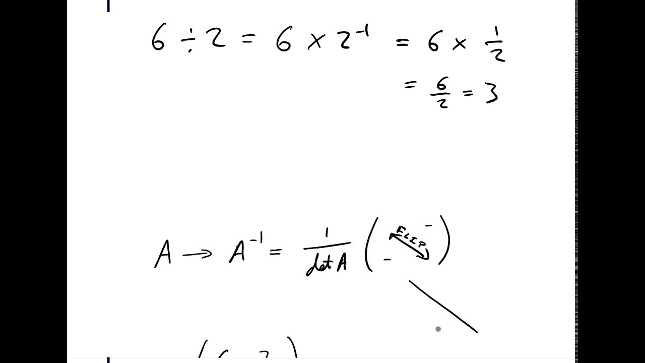 How to Divide Matrices