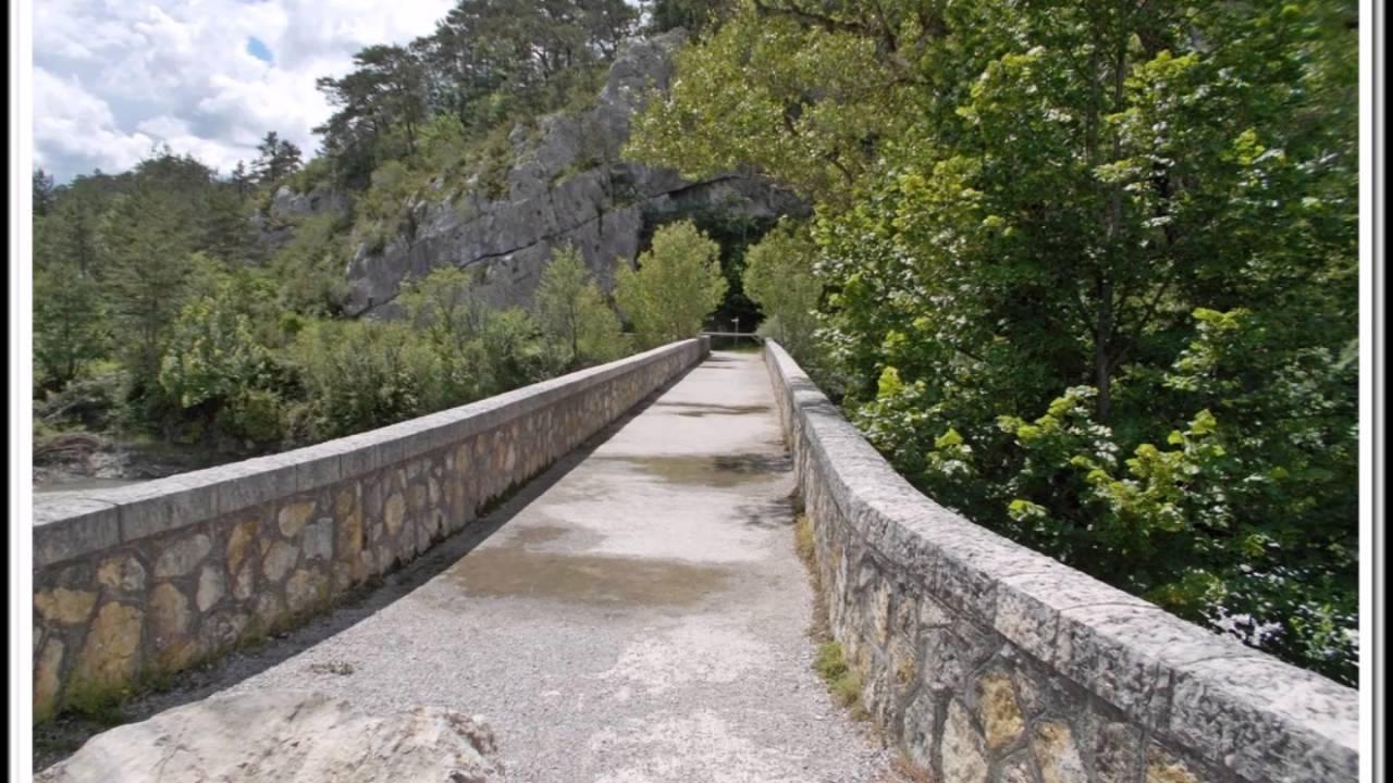 Très 83 - Trigance - RandoCool - Le pont de Carajuan - YouTube JN56