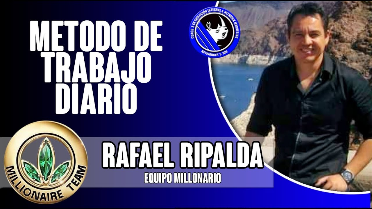 Método de Trabajo Diario | Rafael Ripalda